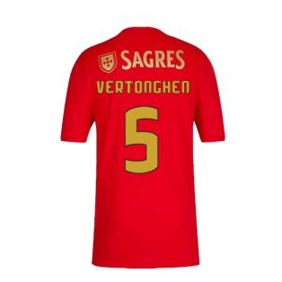 2020-2021 Benfica Home Shirt (VERTONGHEN 5)