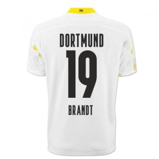 2020-2021 Borussia Dortmund Puma Third Cup Football Shirt (BRANDT 19)