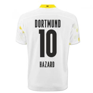 2020-2021 Borussia Dortmund Puma Third Cup Football Shirt (HAZARD 10)