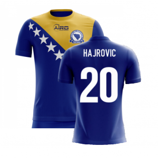 2020-2021 Bosnia Herzegovina Airo Concept Home Shirt (Hajrovic 20) - Kids
