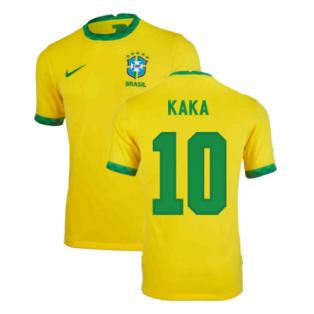 2020-2021 Brazil Home Shirt (Kids) (KAKA 10)