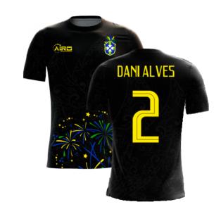 2020-2021 Brazil Third Concept Football Shirt (Dani Alves 2)
