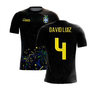 2020-2021 Brazil Third Concept Football Shirt (David Luiz 4)