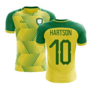 2020-2021 Celtic Away Concept Football Shirt (Hartson 10)