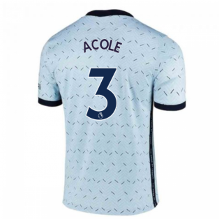 2020-2021 Chelsea Away Nike Football Shirt (A.COLE 3)