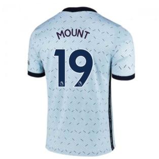 2020-2021 Chelsea Away Nike Ladies Shirt (MOUNT 19)