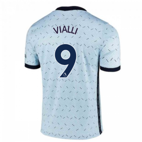 2020-2021 Chelsea Away Nike Ladies Shirt (VIALLI 9)