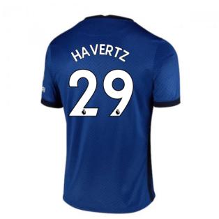 2020-2021 Chelsea Home Nike Football Shirt (Kids) (HAVERTZ 29)