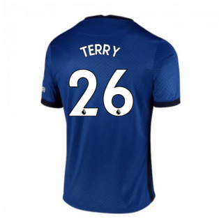 2020-2021 Chelsea Home Nike Football Shirt (Kids) (TERRY 26)