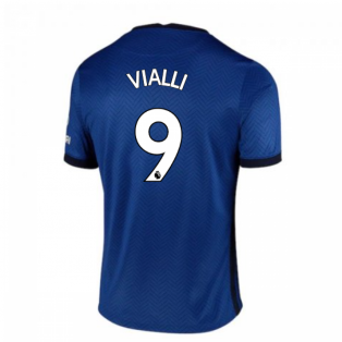 2020-2021 Chelsea Home Nike Football Shirt (Kids) (VIALLI 9)