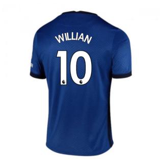 2020-2021 Chelsea Home Nike Football Shirt (Kids) (WILLIAN 10)