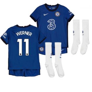 2020-2021 Chelsea Little Boys Home Mini Kit (WERNER 11)