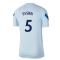 2020-2021 Chelsea Nike Training Shirt (Light Blue) - Kids (ESSIEN 5)