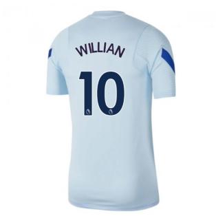 2020-2021 Chelsea Nike Training Shirt (Light Blue) - Kids (WILLIAN 10)
