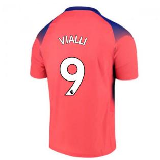 2020-2021 Chelsea Nike Vapor Third Match Shirt (VIALLI 9)