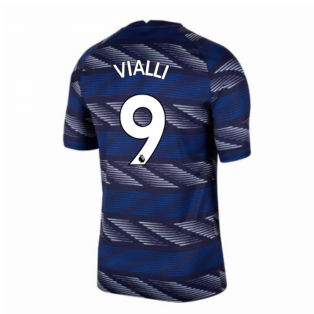2020-2021 Chelsea Pre-Match Training Shirt (Blue) (VIALLI 9)