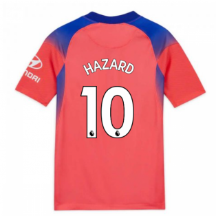 2020-2021 Chelsea Third Nike Football Shirt (Kids) (HAZARD 10)