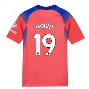 2020-2021 Chelsea Third Nike Football Shirt (Kids) (MOUNT 19)