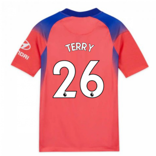 2020-2021 Chelsea Third Nike Football Shirt (Kids) (TERRY 26)