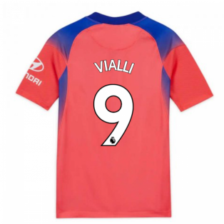 2020-2021 Chelsea Third Nike Football Shirt (Kids) (VIALLI 9)