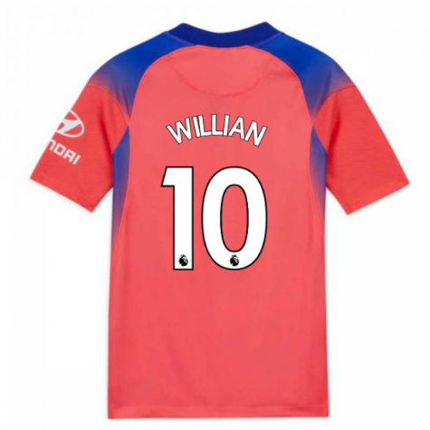 2020-2021 Chelsea Third Nike Football Shirt (Kids) (WILLIAN 10)
