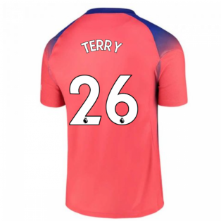 2020-2021 Chelsea Third Nike Football Shirt (TERRY 26)