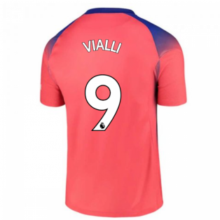 2020-2021 Chelsea Third Nike Football Shirt (VIALLI 9)