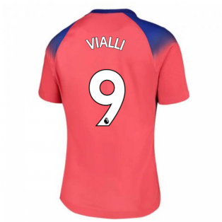 2020-2021 Chelsea Third Nike Ladies Shirt (VIALLI 9)