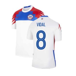 2020-2021 Chile Away Shirt (VIDAL 8)