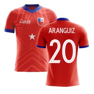 2020-2021 Chile Home Concept Football Shirt (Aranguiz 20) - Kids