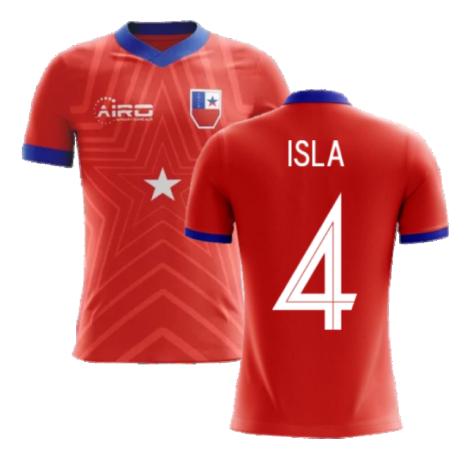2020-2021 Chile Home Concept Football Shirt (Isla 4)