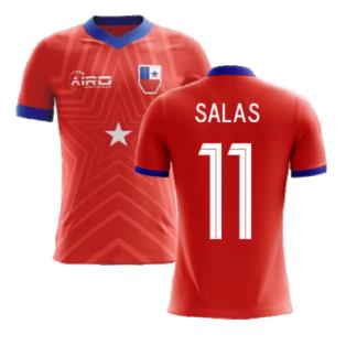 2020-2021 Chile Home Concept Football Shirt (SALAS 11) - Kids