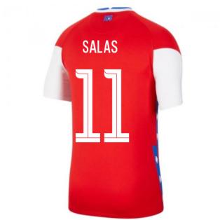 2020-2021 Chile Home Shirt (SALAS 11)