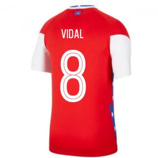 2020-2021 Chile Home Shirt (VIDAL 8)