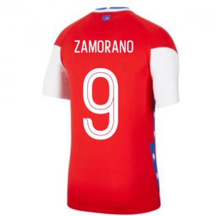 2020-2021 Chile Home Shirt (ZAMORANO 9)