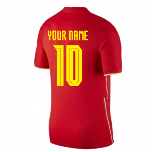 2020-2021 China Home Shirt (Your Name)