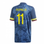 2020-2021 Colombia Away Adidas Football Shirt (ASPRILLA 11)