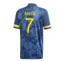2020-2021 Colombia Away Adidas Football Shirt (BACCA 7)