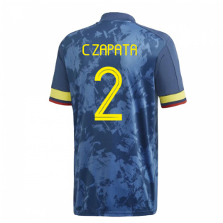 2020-2021 Colombia Away Adidas Football Shirt (C ZAPATA 2)