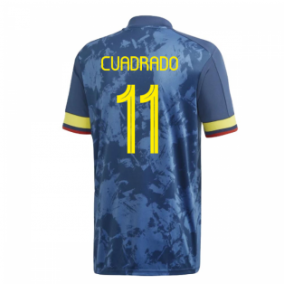 2020-2021 Colombia Away Adidas Football Shirt (CUADRADO 11)