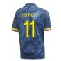 2020-2021 Colombia Away Adidas Football Shirt (Kids) (ASPRILLA 11)