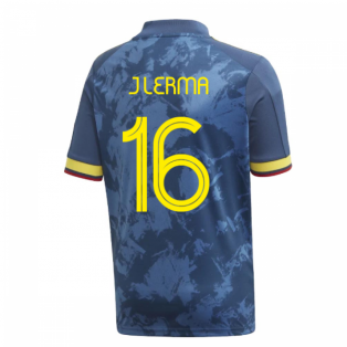 2020-2021 Colombia Away Adidas Football Shirt (Kids) (J LERMA 16)