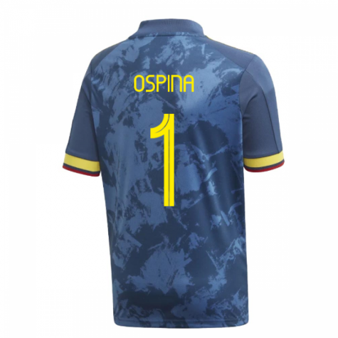 2020-2021 Colombia Away Adidas Football Shirt (Kids) (OSPINA 1)