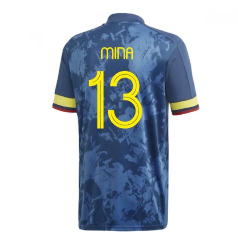 2020-2021 Colombia Away Adidas Football Shirt (MINA 13)