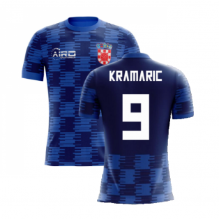 2020-2021 Croatia Away Concept Shirt (Kramaric 9) - Kids