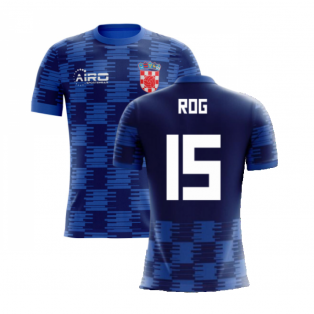 2020-2021 Croatia Away Concept Shirt ( Rog 15) - Kids