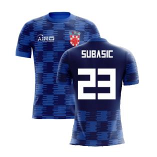 2020-2021 Croatia Away Concept Shirt (Subasic 23) - Kids