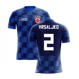 2020-2021 Croatia Away Concept Shirt (Vrsaljko 2) - Kids