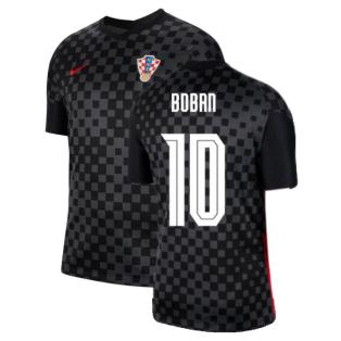 2020-2021 Croatia Away Nike Football Shirt (BOBAN 10)