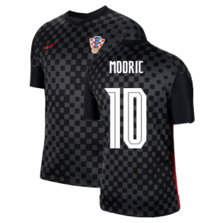 2020-2021 Croatia Away Nike Football Shirt (MODRIC 10)